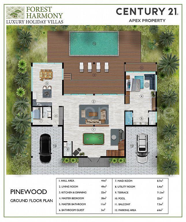 Pinewood- Forest Harmony