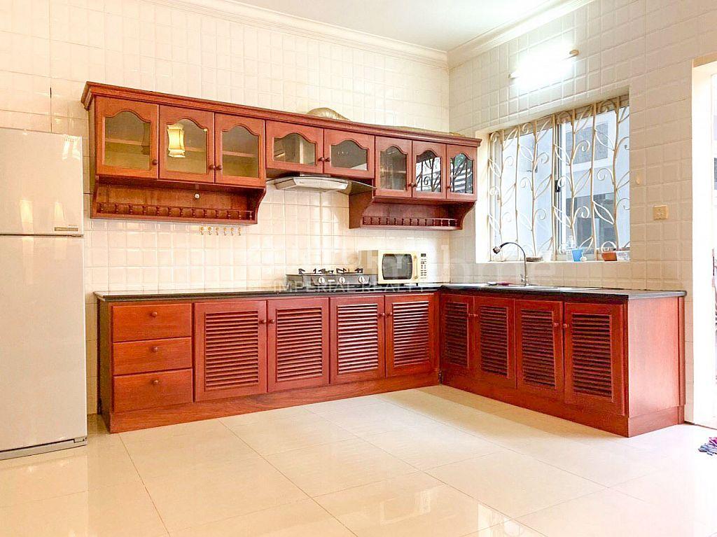 Link villa for rent or sale at Bassac garden  (C-5380)
