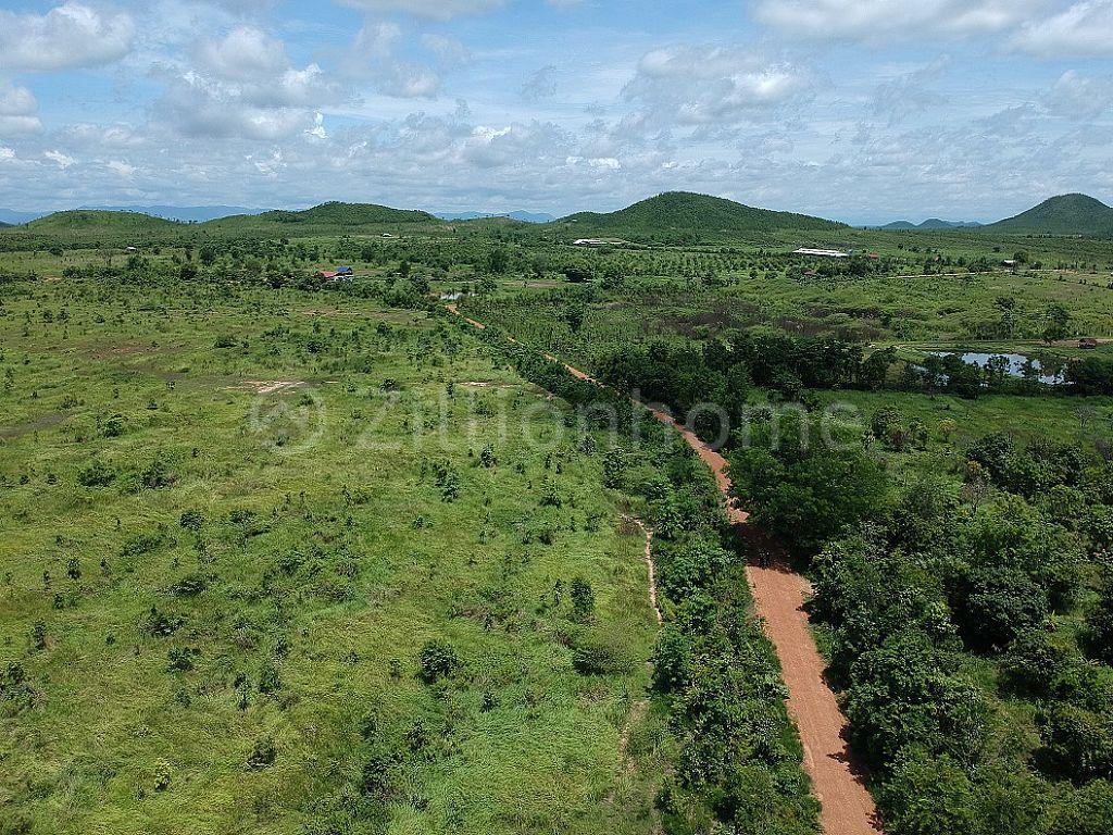 ដីលក់បន្ទាន់ ស្ថិតក្នុងខេត្តកំពង់ស្ពឺ ចុះពីផ្លូវជាតិលេខ44( 2គម) (Land for sale at Kampong Speu province) National Road44