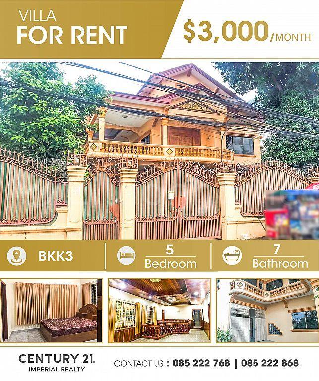 Villa for rent Bkk3   (C-6508)