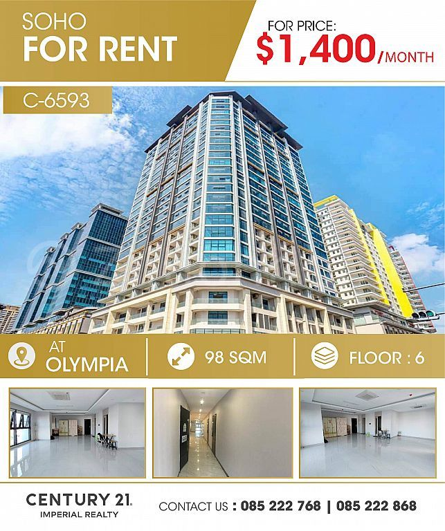 SoHo for rent At Olympia  (C-6593)