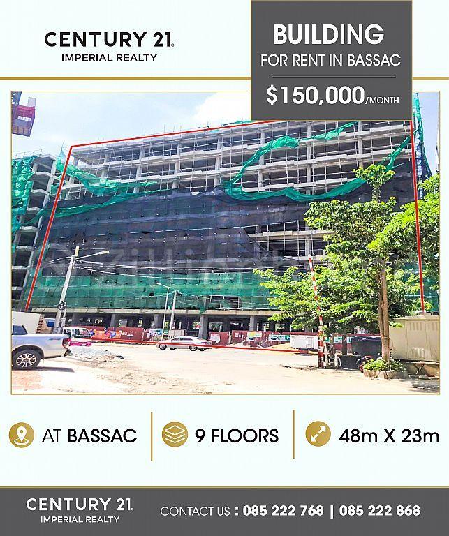 Building  for rent in Bassac  (C-6658)