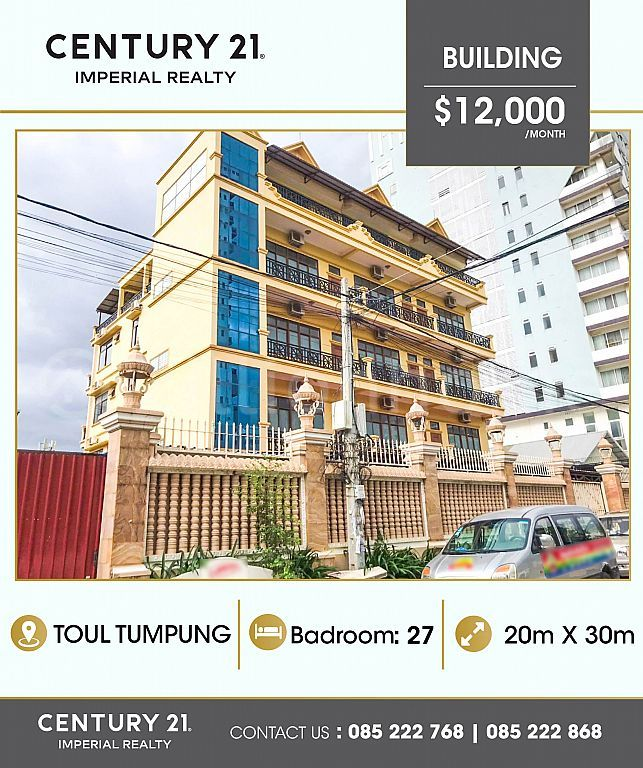 Building for rent at  Toul tumpung  (C-6698)