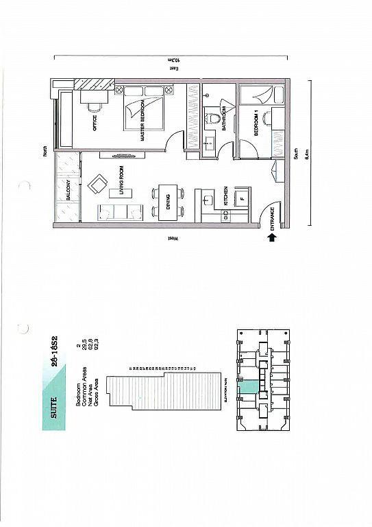 The Penhouse Condo for rent