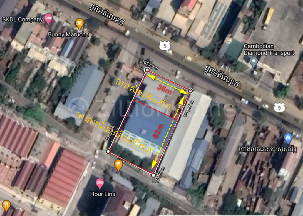 Land+Tela Gastation for immediate sale at Paoy Paet City Border