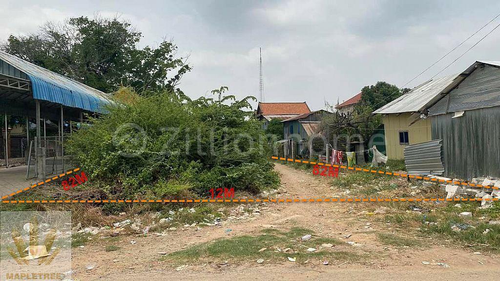 Land for immediate sale at Preaek Tasek & Chrouy Changvar Phnom Penh