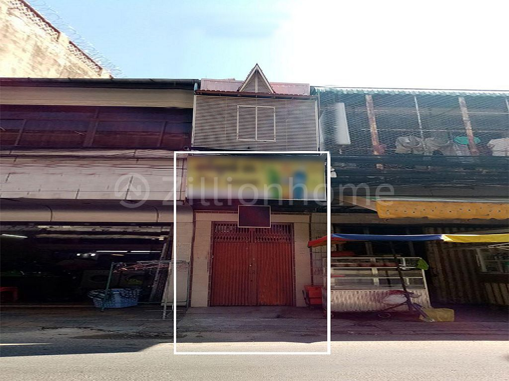 GROUND FLOOR SHOPHOUSE IN DAUN PENH