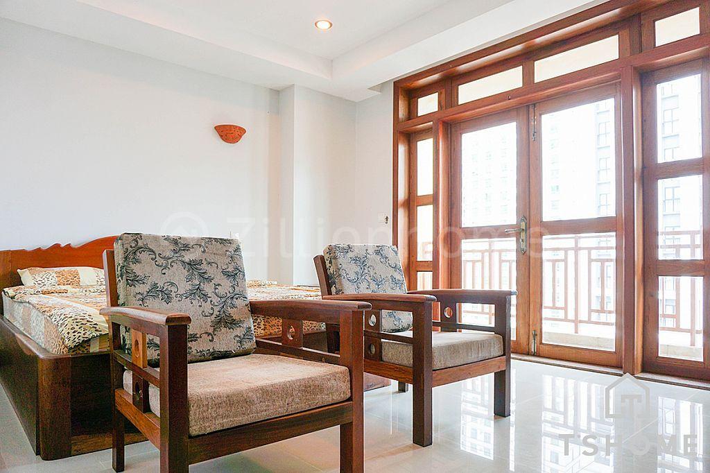 Cozy 1BR Apartment for Rent BKK1 70㎡ 500USD