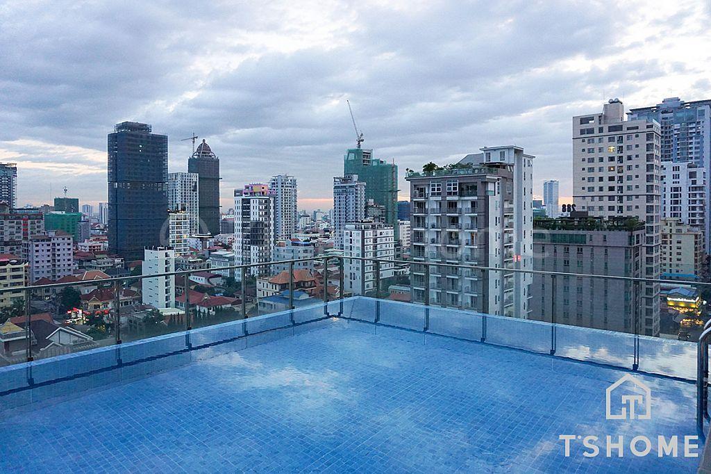 Lovely 1 Bedroom Apartment for Rent in BKK1 950USD 50㎡