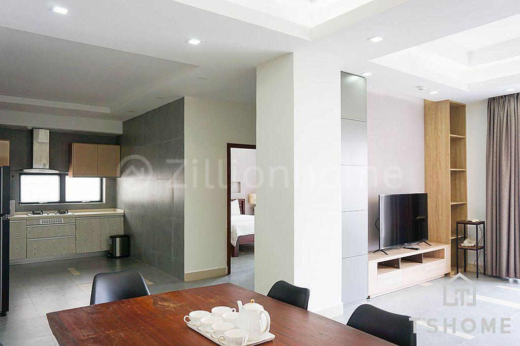 Brand 2 Bedrooms Apartment for Rent in BKK1 2,000USD 120㎡