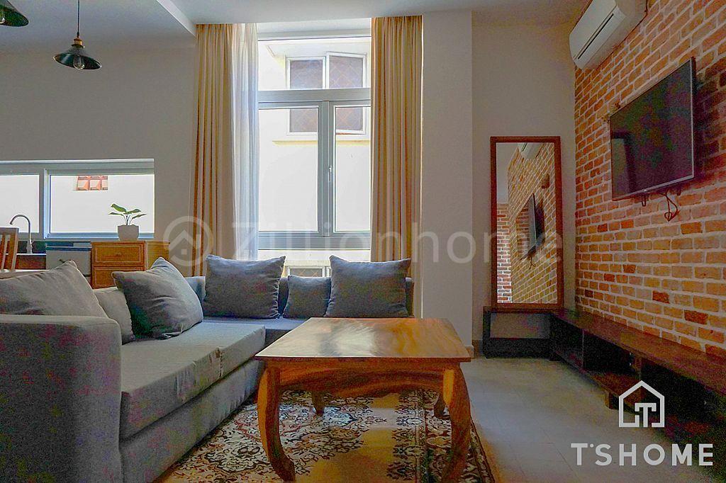 Western 1 Bedroom Apartment for Rent in BKK1 750USD 55㎡