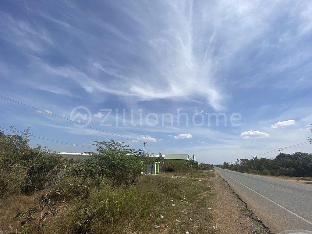 Land on Highway 44 Kompong Speu Province