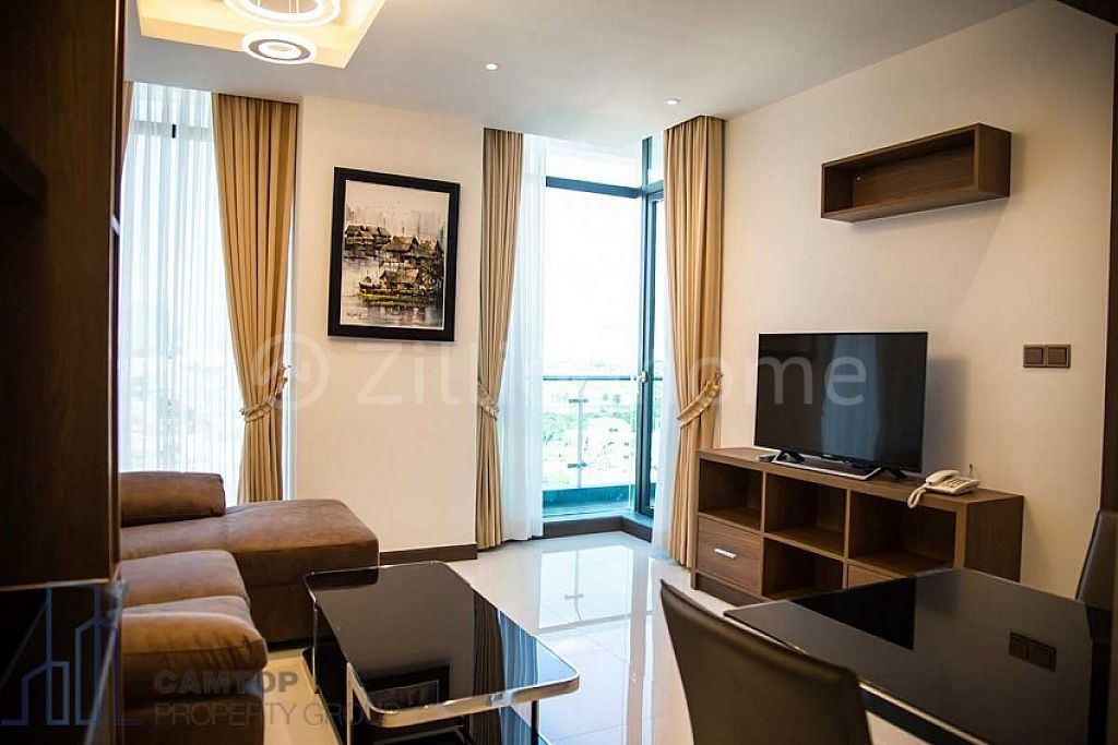 1 Bedroom western Apartment For Rent in Tuol Kork area is available now