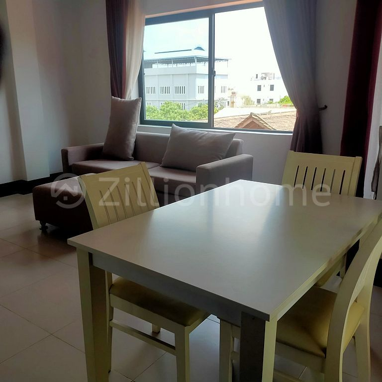 One Studio room & 2 Bed Rooms Apartment for Rent In Siem Reap City